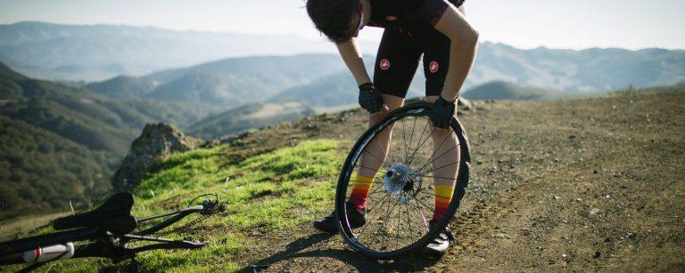 pneu crevé bike and repair réparation
